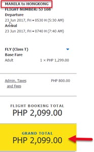 Manila-to-Hongkong-Sale-Ticket-June-2017