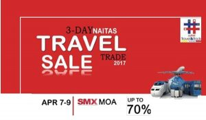 2017 NAITAS Travel and Trade Sale: Mall of Asia (SMX)