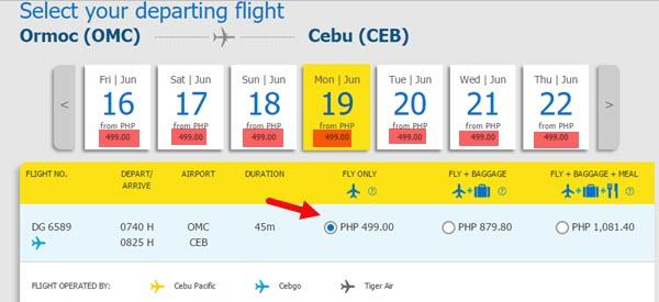 Ormoc-to-Cebu-Promo-Fare-June-2017
