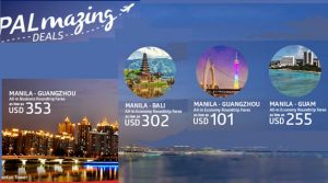 Philippine Airlines Guangzhou, Bali, Guam Promo Deals 2017