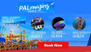 Philippine Airlines Asia, USA and Middle East Promo Fares