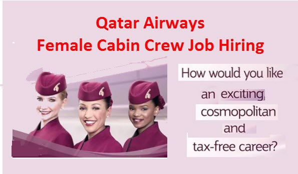 Qatar airways female cabin crew job hiring 2017 for Cabin crew recruitment agency philippines