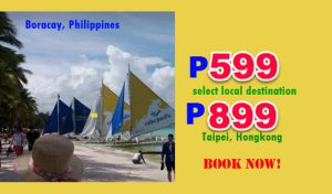 2017 Cebu Pacific Promo Flights P599 and More Sale Tickets