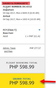 Davao-to-Dumaguete-Promo-Fare