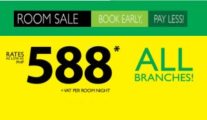 Go Hotel All Branches P588 Room Sale Per Night Stay