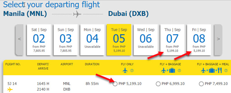 Promo-Ticket-Manila-to-Dubai-2017