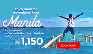 Air Asia as low as P550 Promo Deals June- November 2017