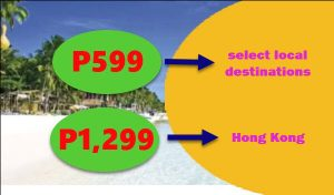Airline Sale Tickets June- September 2017 start at P599