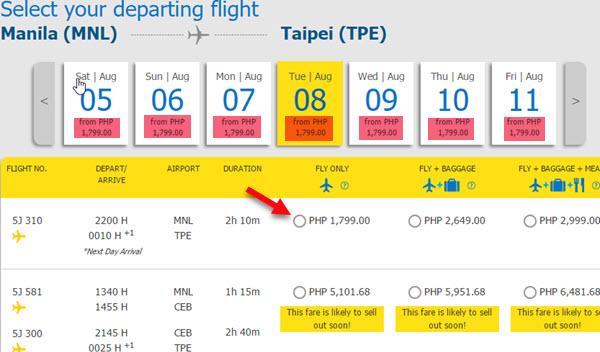 Cebu-Pacific-Promo-Fare-Manila-to-Taipei