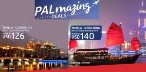 Philippine Airlines Hong Kong and Guangzhou July-November 2017 Seat Sale