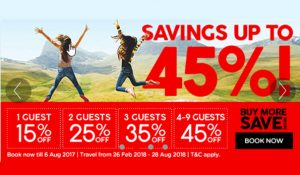 Air Asia Promo Fare 2017 TO 2018: Up to 45% Off on 2018 Trips