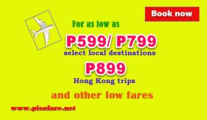 August to October Airline Promo Tickets on Sale