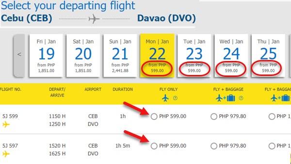 Cebu-Pacific-Sale-Ticket-2018-Cebu-to-Davao