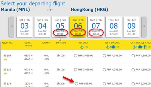 Cebu-Pacific-Sale-Ticket-Manila-to-Hongkong.