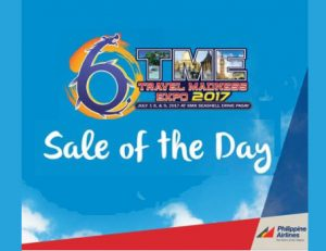 Philippine Airlines Promo Deals at TME Travel Madness Expo 2017