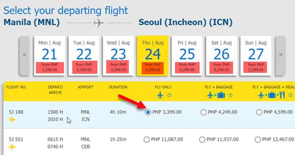Promo-Fare-Ticket-Manila-to-Incheon
