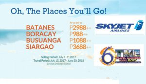 Grab Skyjet JULY 2017- JUNE 2018 Promo Fares at TME Travel Expo 2017