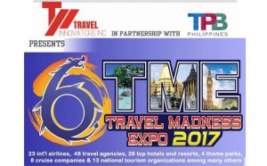 The Travel Madness Expo (TME) 2017: Venue and Dates