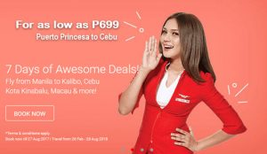 Air Asia February- August 2018 as Low as P699 Promo Deals