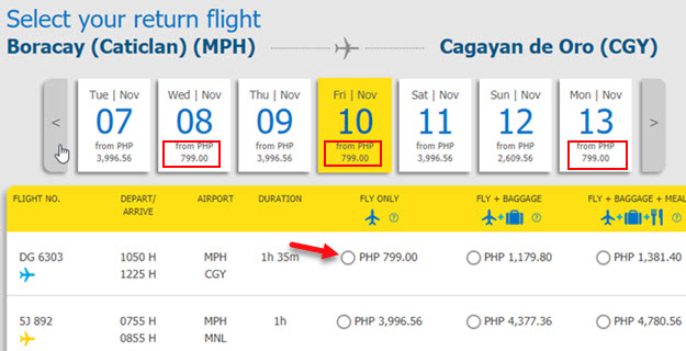 Boracay-to-Cagayan-De-Oro-Sale-Ticket-2017