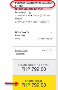 Cebu-Pacific-Promo-Boracay-to-Cagayan-De-Oro