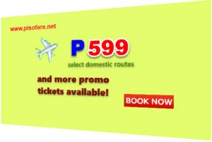 September-December 2017 Promo: P599 and More Sale Tickets