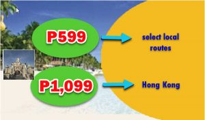 January, February, March 2018 P599 Promo Fares: On Sale