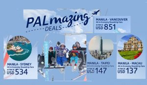 Philippine Airlines International Sale Tickets August- September 2017