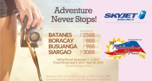 Skyjet-Promo-Fare-Batanes-Boracay-Coron-Siargao-at-Philippine-Travel-Mart-