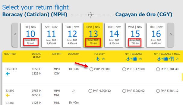 Boracay-to-CAgayan-De-Oro-Promo-Ticket