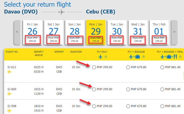 Cebu-Pacific-Promo-Fare-Davao-to-Cebu