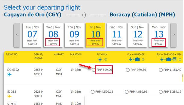Cebu-Pacific-Sale-Ticket-Cagayan-De-Oro-to-Boracay