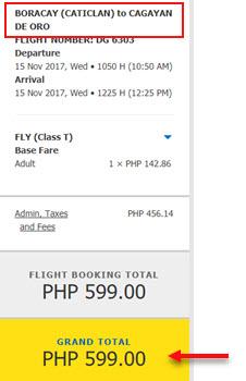 Cebu-Pacific-Seat-Sale-Boracay-to-Cagayan-De-Oro