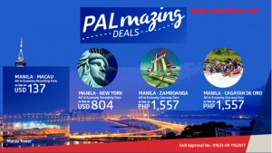 Philippine Airlines Promo Fare Tickets 2017-2018 Trips