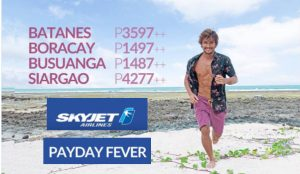 Skyjet Seat Sale September, October, November, December 2017