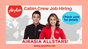 Air Asia Cabin Crew Walk-In Job Hiring November 2017