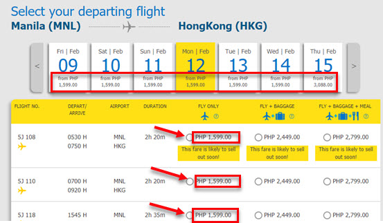 Cebu-Pacific-Manila-to-Hong-Kong-Promo