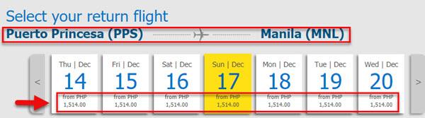 Cebu-Pacific-Sale-Tickets-Puerto-Princesa-to-Manila