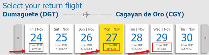 Cebu-Pacific-promo-fare-Dumaguete-to-Cagayan-De-Oro