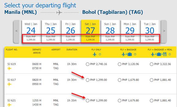 Manila-to-Bohol-Cebu-Pacific-promo-ticket