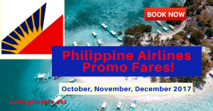 Philippine Airlines Promo Fares 2017: October, November, December