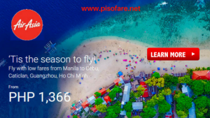 Air Asia Promos as Low as P766 December 2017-April 2018