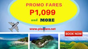 December 2017- March 2018 Promo Fare Flights Start at P1,099