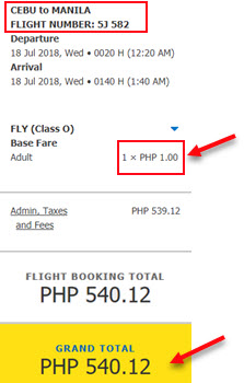 Cebu-Pacific-piso-fare-promo-cebu-to-manila