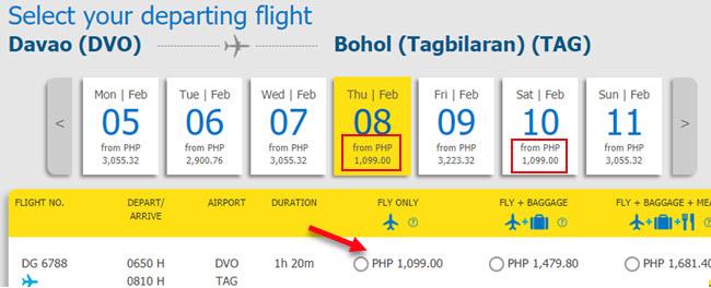 Davao-to-Tagbilaran-Cebu-Pacific-promo