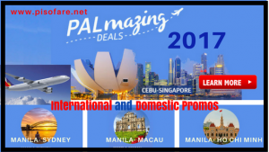 Philippine Airlines Promo Fares: November-December 2017