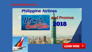 Philippine Airlines Ultimate Seat Sale January-September 2018