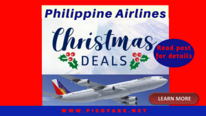 Philippine Airlines Christmas 2017 Promo Fares