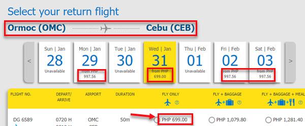 Cebu-Pacific-sale-ticket-Ormoc-to-Cebu