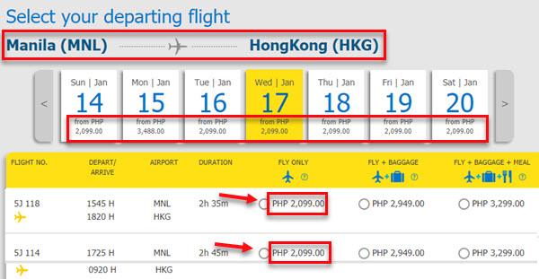 Cebu-pacific-promo-fare-Manila-to-Hong-Kong